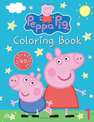 Peppa Pig Coloring Book Great Coloring Book For Kids Ages 3 8 40 Illustrations Willnex Serena 9781073314423 Amazon Com Books