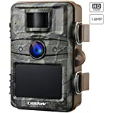 Campark Trail Camera 14MP 1080P Game&Hunting Camera Night Vision Motion Activated up to 20M with 2.4 LCD 44 Pcs Invisible IR LEDs IP66 Waterproof Design for Wildlife Hunting and Home Security