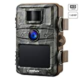 Campark Trail Camera 14MP 1080P Game&Hunting Camera Night Vision Motion Activated up to 20m with 2.4'' LCD 44 Pcs IR LEDs IP66 Waterproof Design for Wildlife Hunting and Home Security
