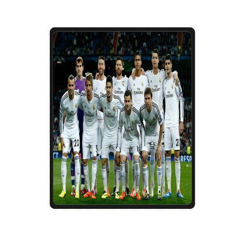 Daniellestore Soft Bed Sheet Plush Throw Blanket Bedding Sleep Real Inspiration Real Madrid Throw Blanket