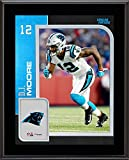 "D.J. Moore Carolina Panthers 10.5"" x 13"" Sublimated Player Plaque - NFL Player Plaques and Collages"