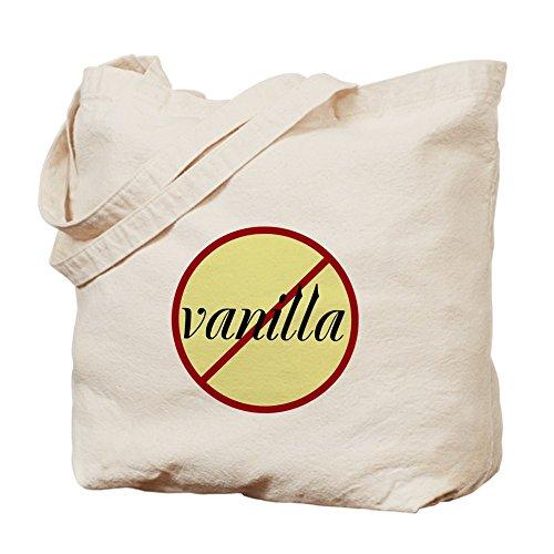 CafePress no–vainilla Tote Bag–Natural gamuza de bolsa de lona bolsa, bolsa de la compra