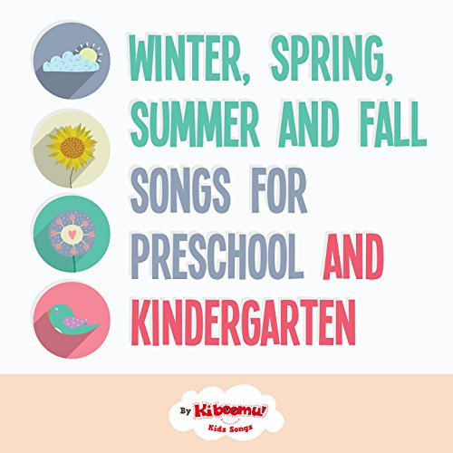 Winter, Spring, Summer and Fall for Preschool and Kindergarten