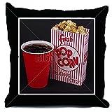 CafePress Movie Snacks - Decor Throw Pillow (18''x18'')