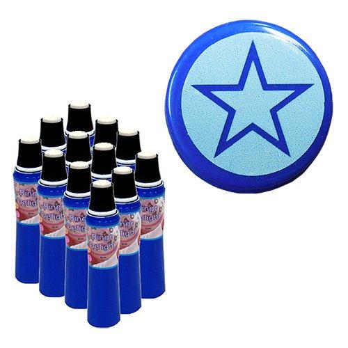 One Dozen Bingo Delight Blue Star Bingo ()