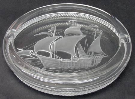 ラリック アッシュトレイ ピンタ Pinta 灰皿 船 シップ リングトレイ ピントレイ [並行輸入品] B01B7AGJKQ