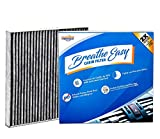 Installer Champ Premium Breathe Easy Cabin Filter, Up to 25% Longer Life w/Activated Carbon (BE-134)
