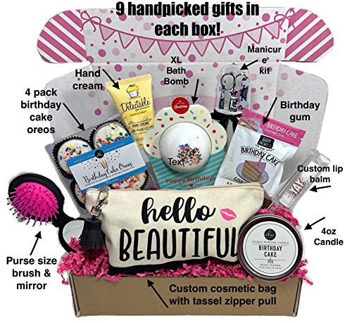 Women's Birthday Gift Box Set 9 Unique Surprise Gifts For Wife, Aunt, Mom, Girlfriend, Sister from H - http://coolthings.us