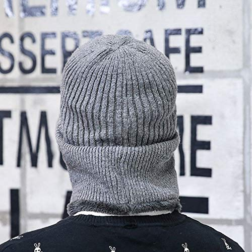 Homme Tricot 1 D'hiver Grau En vent Acvip Coupe Bonnet Pour 0FxwnSg