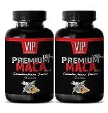 Natural sexual performance - MACA PREMIUM FORMULA 1300Mg - Maca root pills for men - 2 Bottles 120 Tablets