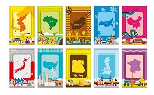 20 Different Colorful Photo Sticker Borders films Sticker for Fujifilm Instax Polaroid mini 8,7S,25,50S,90