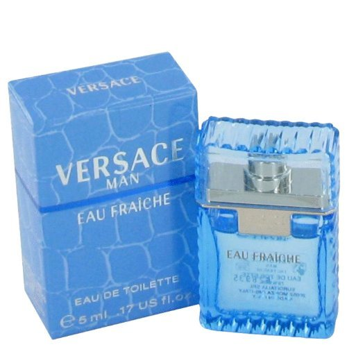 Versace Man Eau Fraiche By Gianni Versace For Men Edt Spray .17 Oz (mini) SYNCHKG039363