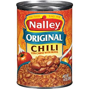 nalley original chili con carne with beans 14 ounce cans pack of 8 chili soups. Black Bedroom Furniture Sets. Home Design Ideas