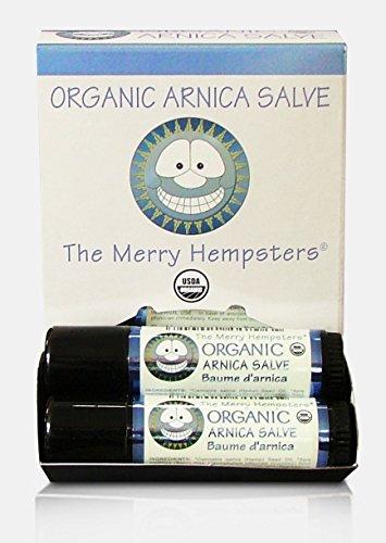 The Merry Hempsters Organic Arnica Salve Gravity Display Case
