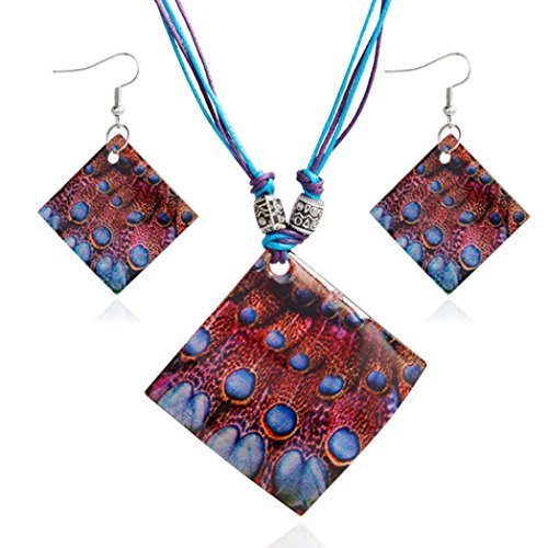 Beads Accent Shell Earrings - 7