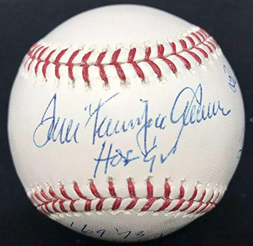 - Tom Seaver Autographed Baseball - HOF 92 Terrific Cy Stat - PSA/DNA Certified - Autographed Baseballs