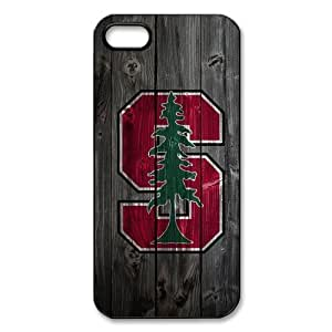 CTSLR iphone 5 Case - Stylish Hard Plastic Back Case for iphone 5 - NCAA Stanford Cardinal - 08