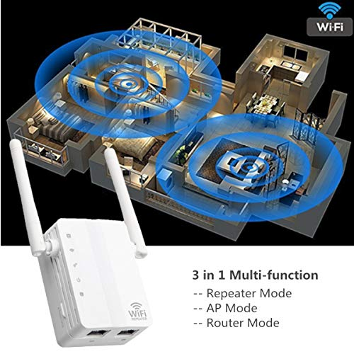 N&M Tech WiFi Extender Repeater Wireless Signal Booster Wi-F