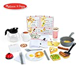 Melissa & Doug Star Diner Restaurant Play Set (Toy Diner Set, 41 Pieces)