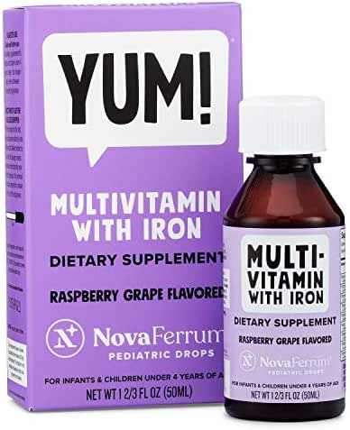 NovaFerrum Multivitamin with Iron for Infants and Toddlers