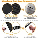 Tvird Snow Thrower Cover, Two Stage Snow Blower