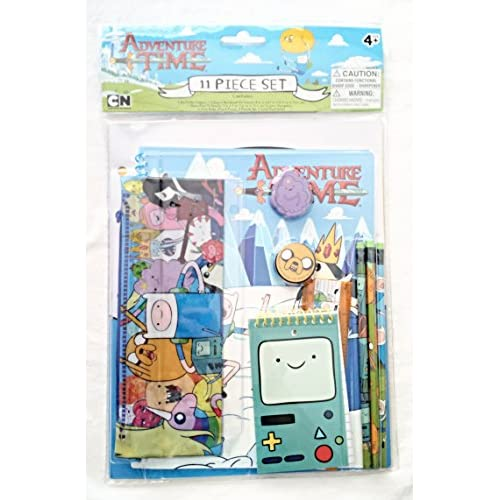 Wholesale Adventure Time 11-piece Stationery Set by Innovative NYC hot sale