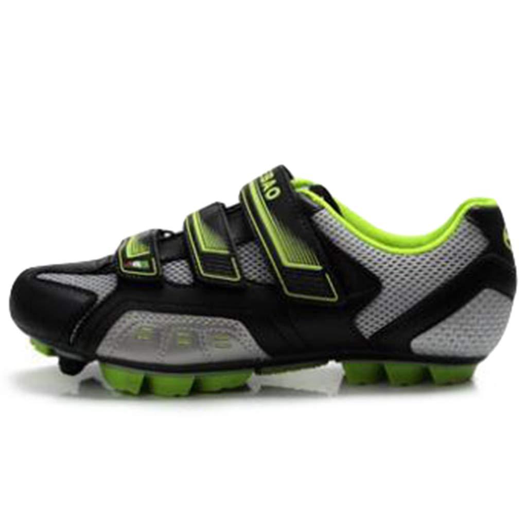 wthfwm Chaussures de v/élo pour Hommes Chaussures de Cyclisme l/ég/ères et Fortes Chaussures de v/élo Bicycle VTT Chaussures de v/élo de Montagne et de v/élo dint/érieur