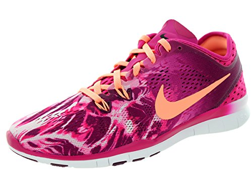 Nike Womens Gratis 5.0 Tr Fit 5 Prt Trainingsschoen Dames Ons Paars