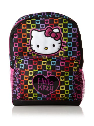 Sanrio Hello Kitty Large Backpack 16″, Outdoor Stuffs