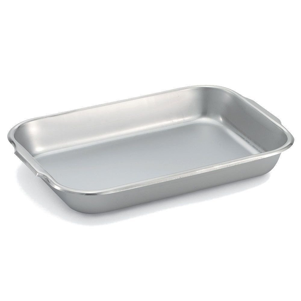 Vollrath 61250 4-3/4 Quart Stainless Steel Bake and Roast Pan