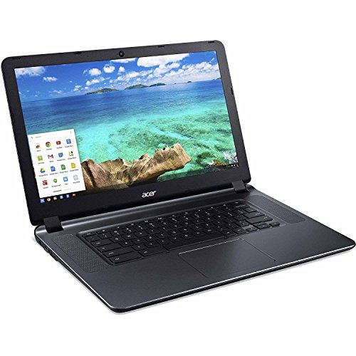 "2018 Acer 15.6"" HD WLED Chromebook 15 with 3X Faster WiFi Laptop Computer"