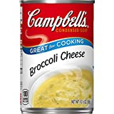 Campbell's Condensed Broccoli Cheese Soup, 10.5 oz. Can (Pack of 12)