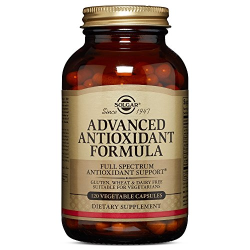 Solgar – Advanced Antioxidant Formula, 120 Vegetable Capsules - Antioxidant Formula Vitamin