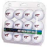 LinksWalker NCAA Virginia Tech Hokies - Dozen Golf Balls
