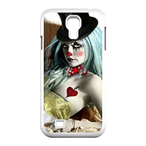 Cool PaintingFashion Cell phone case Of Clown Bumper Plastic Hard Case For Samsung Galaxy S4 i9500