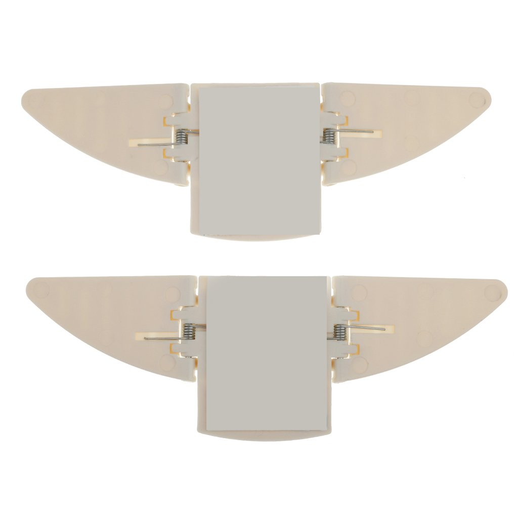 Sharplace 6 Pcs Serrure de Porte//Serrure de Fen/être Coulissante Coin Serrure de S/écurit/é pour B/éb/é