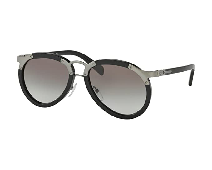 e45ff667 Prada Midnight Black Aviator Sunglasses for Men and for Women SPR01T ...