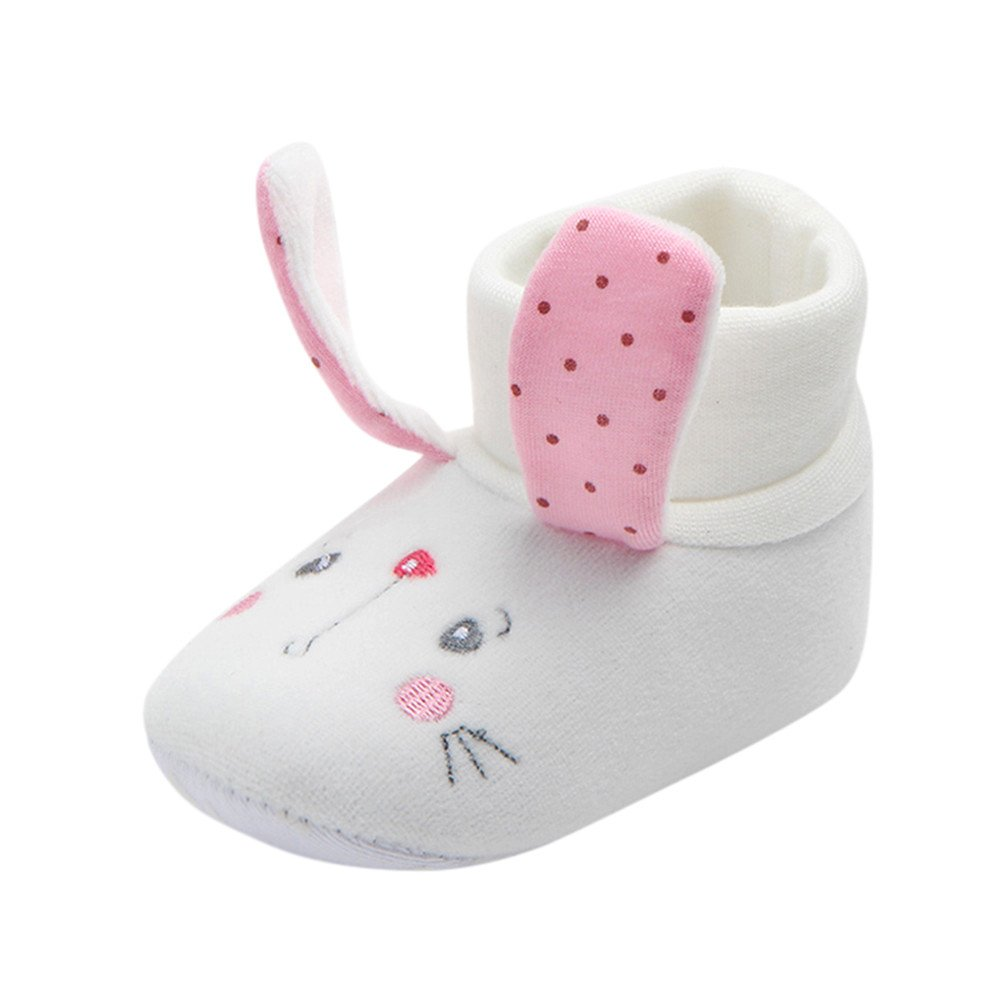Newborn Girls Boys Shoes HEHEM Lovely Newborn Toddler First Walkers Baby Round Toe Flats Soft Slippers Shoes Infant Boots Baby Toddler Shoes Walking Shoes Infant Shoes Crib shoes