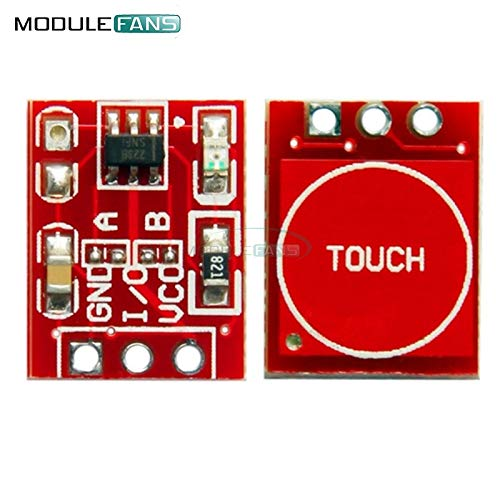 10Pcs NEW TTP223 Capacitive Touch Switch Button Self-Lock Module for Arduino