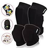 Kids Protective Gear Set: Toddler Knee And Elbow Pads Plus Bike Gloves | For Roller Skating, Cycling, Bike, Rollerblading, Scooter, Skateboarding, Bicycle, Inline Skatings For Child Boys And Girls