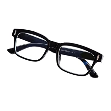 8e1246ce09a Haodasi Men Women Coated Anti-radiation Myopia Glasses Short Sight  Nearsighted Eyeglass Strength -1.00 to -4.00 with Hard Case (These are not  reading ...