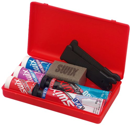 Swix Nordic Ski Wax Pack with Kick Wax and Klister-Pack of 7, 12 x 12-Inch by Swix