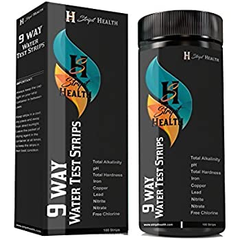 Amazon Com Hach 2745250 Total Hardness Test Strips 0 425