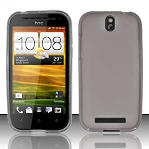 [Extra-Terrestrial]For HTC One SV (Cricket) TPU Cover Case - Smoke TPU