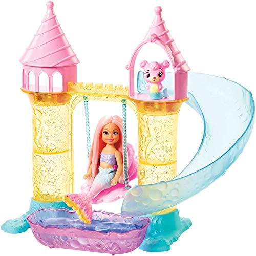 Barbie - Chelsea Sereia Playset Fxt20 Mattel Colorido