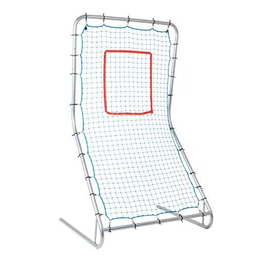 Champion Sports Baseball Training, Pitching, Fielding Net with Strike Zone for Kids, Adults- Premium, Durable Rebounder Pitcher Nets - Softball Training Equipment for Little League, Varsity Practice ()