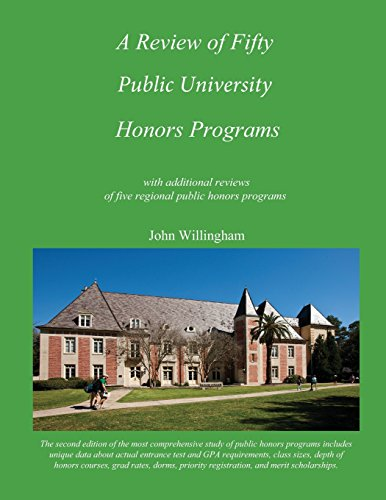 A Review of Fifty Public University Honors Programs (Volume 1)