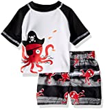 Best Octopus Bathing suits - Wippette Baby Boys Inf Pelican 2PC Rashguard Set Review