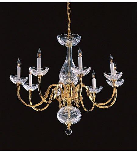 (Crystorama Etta Collection 5-Light Olde Brass Chandelier - Gold )