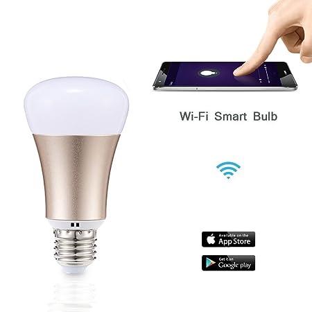 ZeeHoo Wi-Fi Smart LED Light Bulb E27 Smartphone remotely